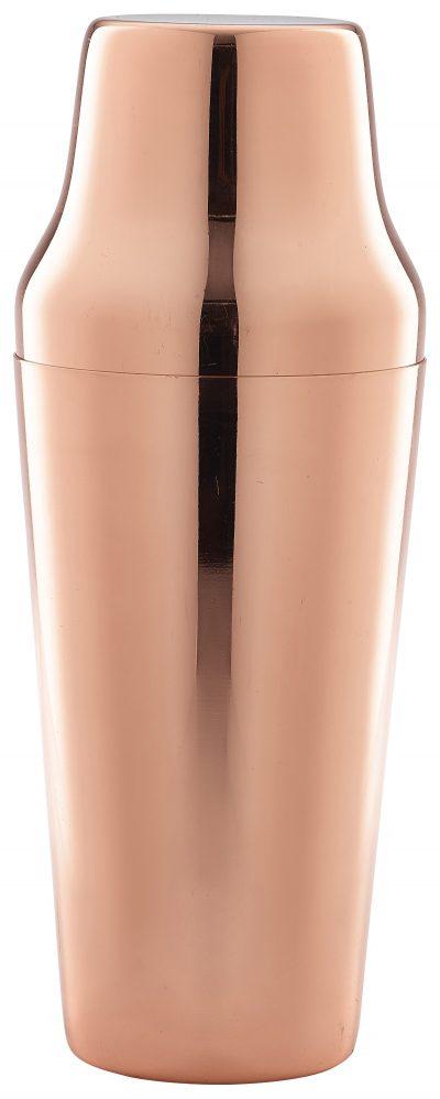 Copper Parisian Cocktail Shaker 70cl