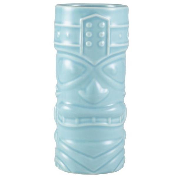 Genware Blue Tiki Mug 40cl 14oz