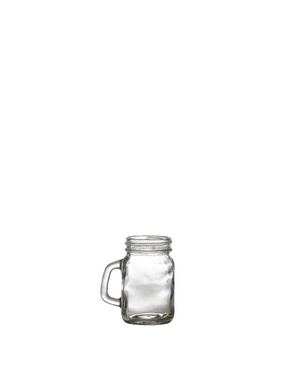 Genware Glass Mini Mason Jar 12cl/4.25oz