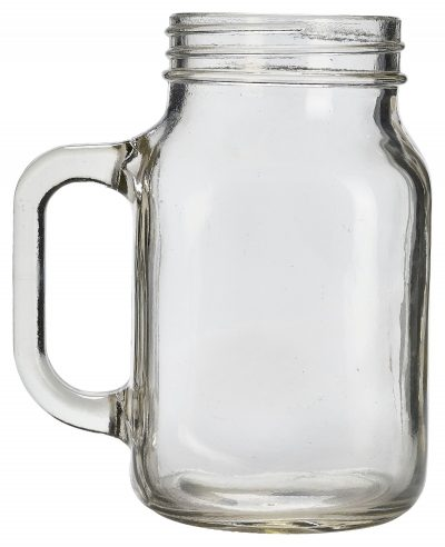Genware Glass Mason Jar 50cl / 17.5oz