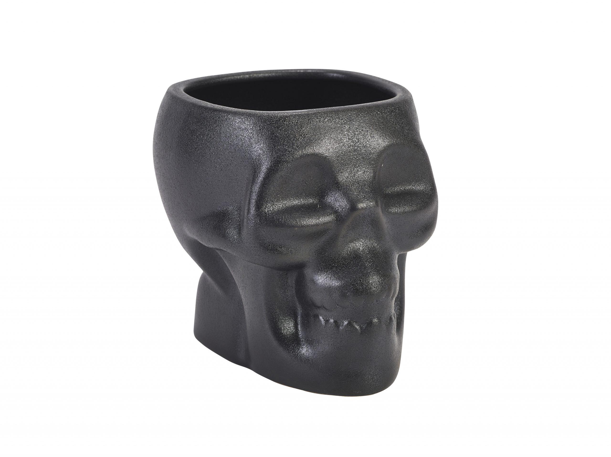 Cast Iron Effect Tiki Skull Mug 80cl/28.15oz