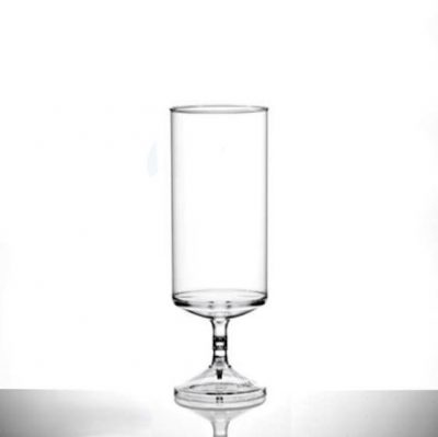 Econ Stacking Champagne Polystyrene Flutes Clear - 70 Pack