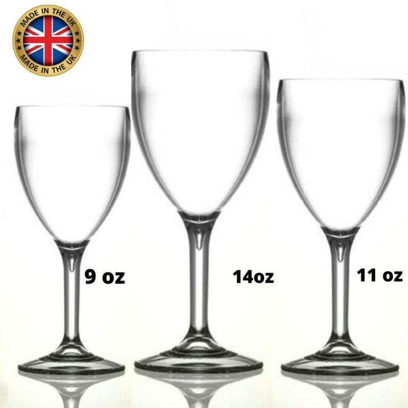 plastic wine glasses polycarbonate