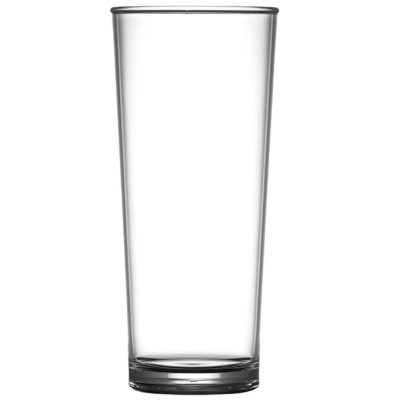 Beer Premium Plastic Pint Glasses 203-1NU CE