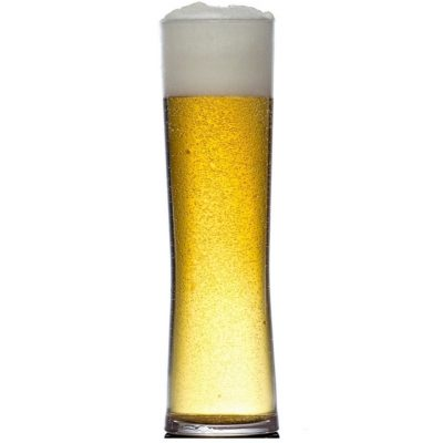 Regal Plastic Pint Beer Pint Beer Glasses, 208-1CL NS