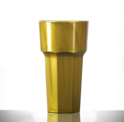 Plastic Remedy 12oz Tall Gold Eastleigh UK