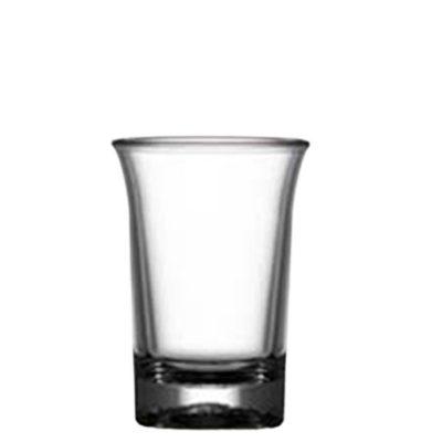 Shot Plastic Shot Glasses - Elite Premium 25ml Shot Clear CE