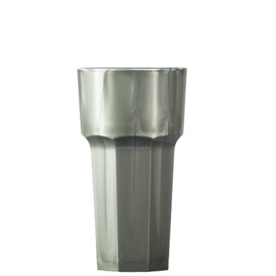 Silver Polycarbonate Plastic Remedy 12oz Tall Glass / Tumblers - 36 Pack
