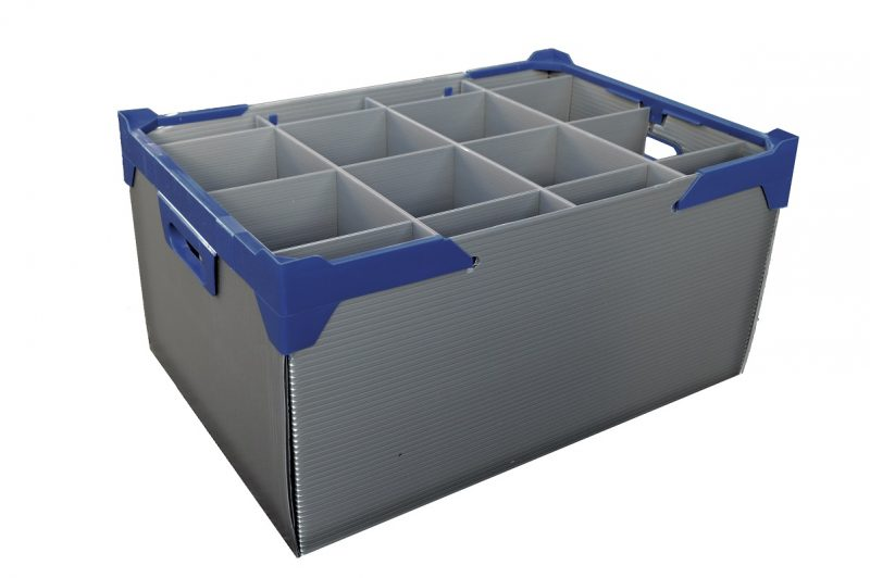 martini gin glass box crate