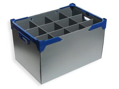 catering-glassware storage container