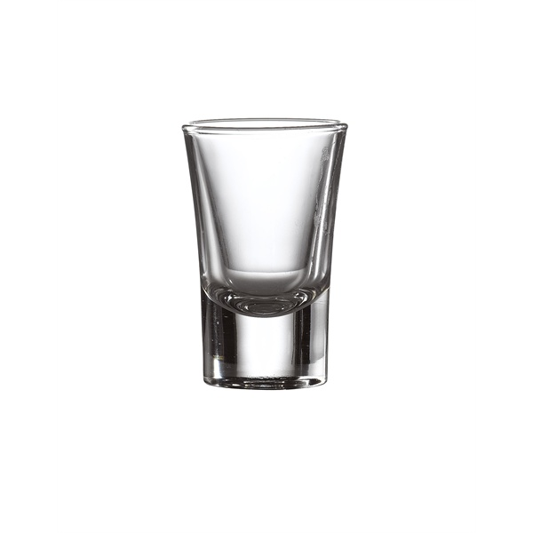 Shot Glasses, Cheerio / Heavy Base Shooter 3.4cl / 1.2 oz - 48 Pack and Glassware Storage Box