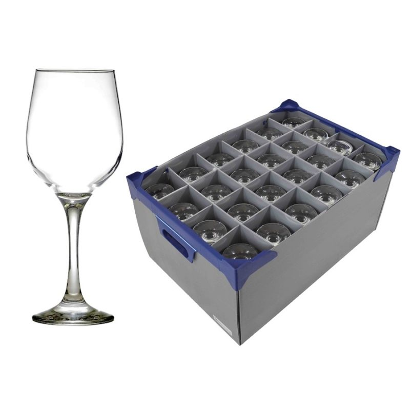 Fame wine and glassjacks box