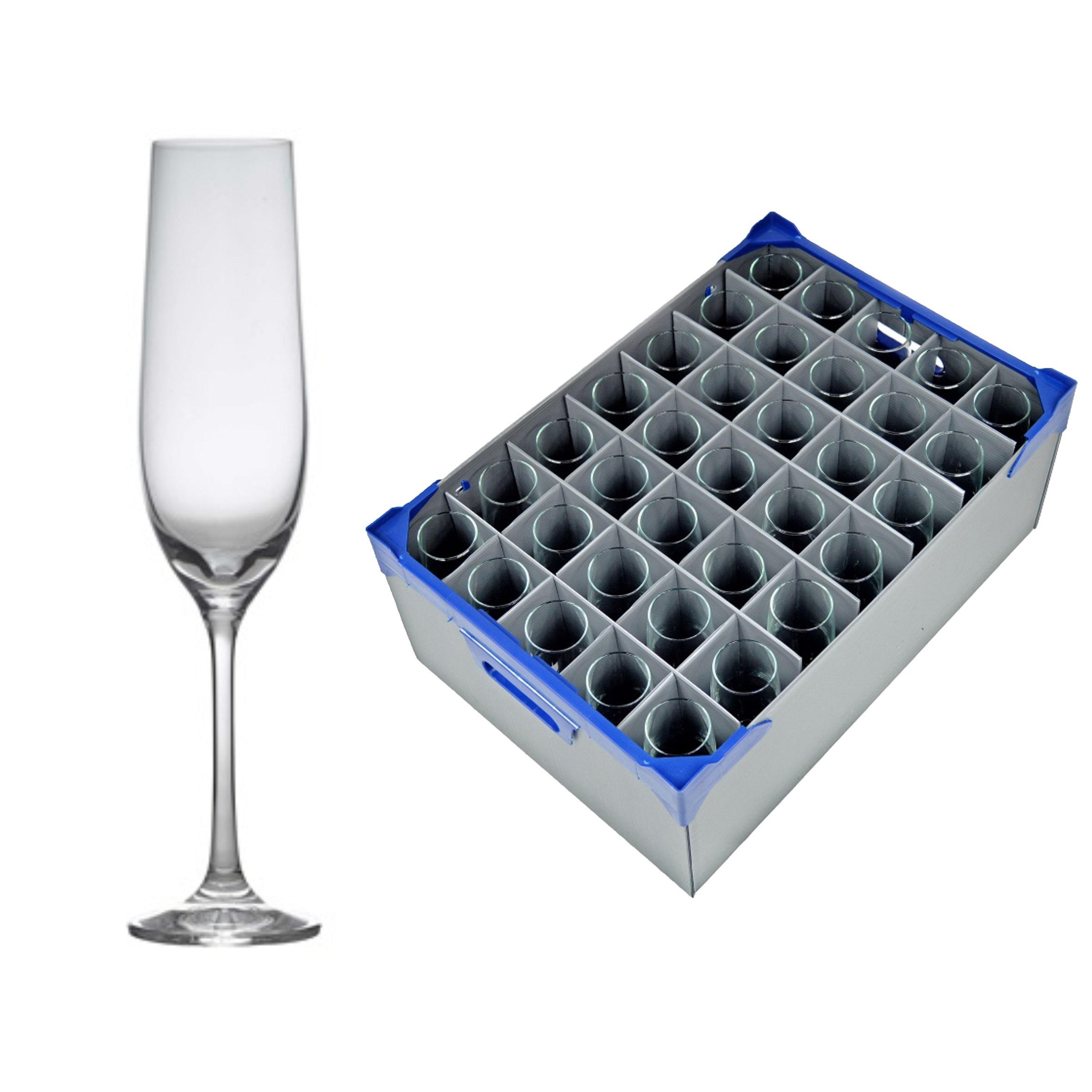 Champagne Flutes & Glassjacks