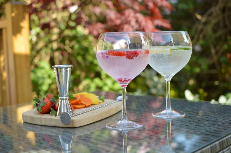 Plastic Gin Glasses, Polycarbonate - Pack of 4