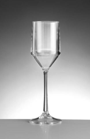 Premium Plastic Champagne Glasses 190ml / 6.7oz
