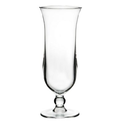 Plastic Hurricane Glass