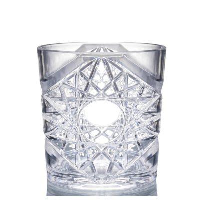 Plastic Vintage Rocks Glass