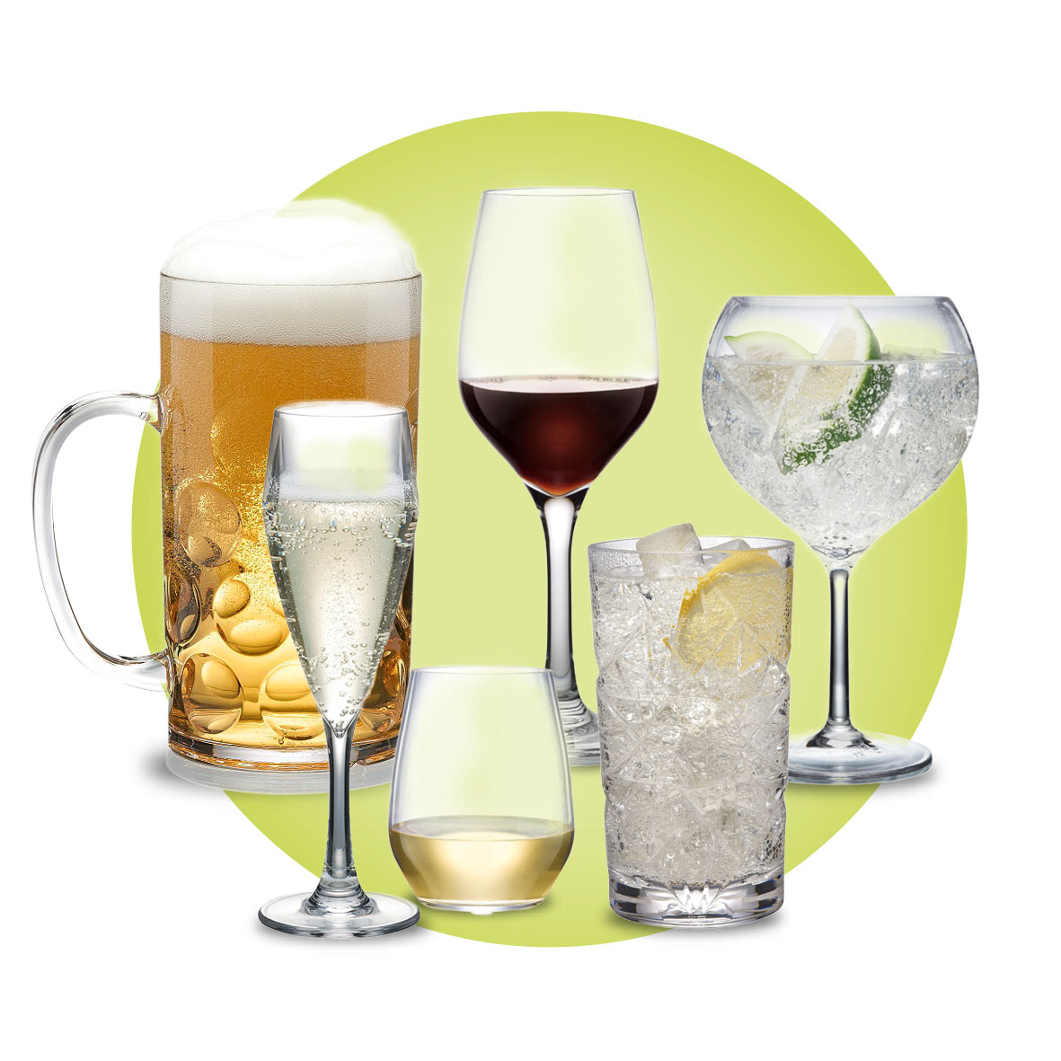 Elite Plastic Glassware Polycarbonate