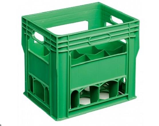 Bottle Box - Holds 12 x 750 ml size bottles, Heavy Duty HDPE Dishwasher Safe