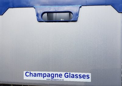 Glass Type Stickers - Champagne Glasses