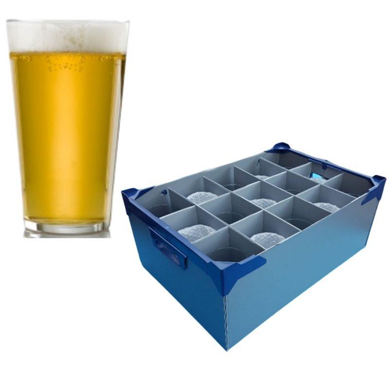 Vicrila Fully Tempered Conil Beer Glasses
