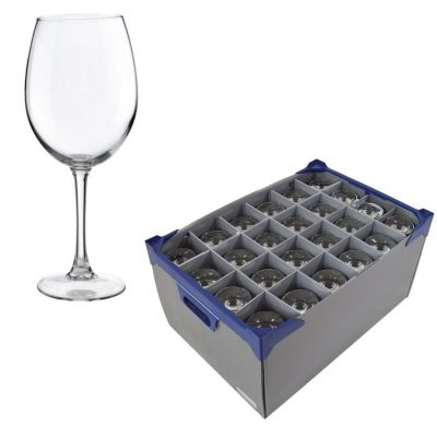 Pinot Wine Glasses 12.3oz and Glassjacks wine glass storage boxes