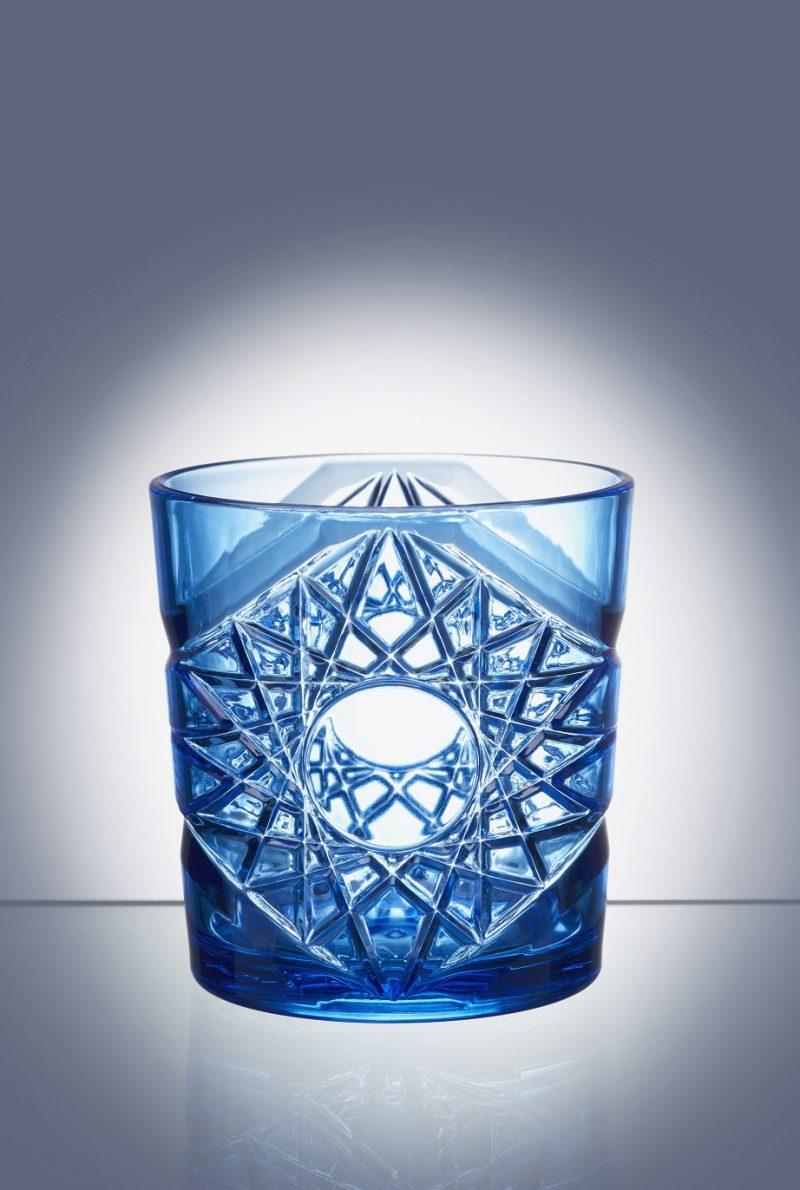 Blue Cocktail Tumbler