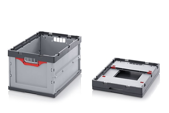 Auer Folding Collapsable Crate Container
