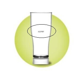 Elite CE Lined Plastic Glasses