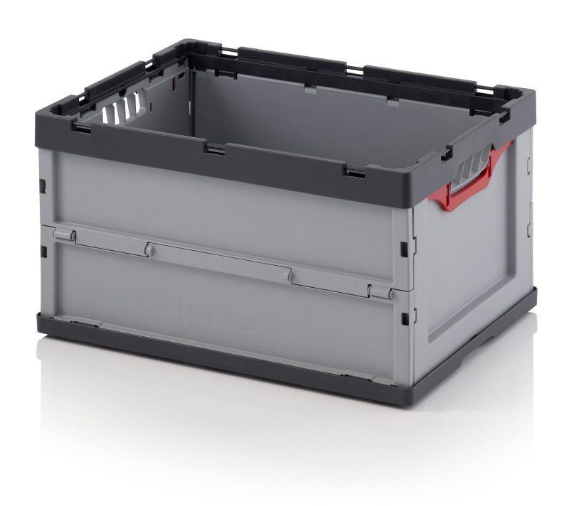 Folding Euro Plastic Stacking Container Auer
