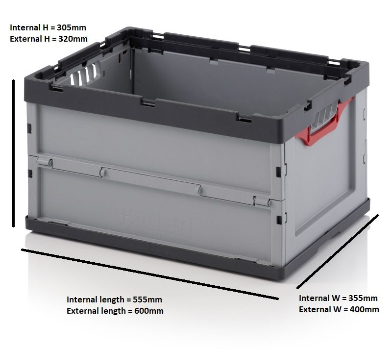 Auer Euro Crate Folding Hampshire