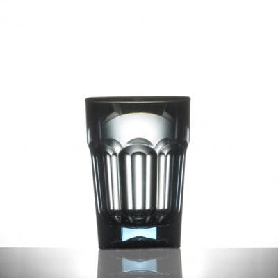 Elite Remedy Polycarbonate Neon Blue Shot Glasses, 25ml - 12 Pack
