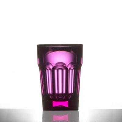 Plastic Remedy Neon Red Shot Glasses, 25ml CE - 24 Pack
