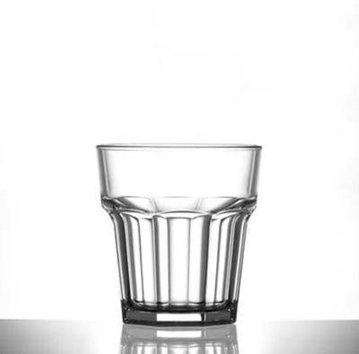 Plastic Rocks Glass - 111-1CL NS