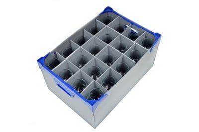 Wine Glass Storage Box | Glassjacks