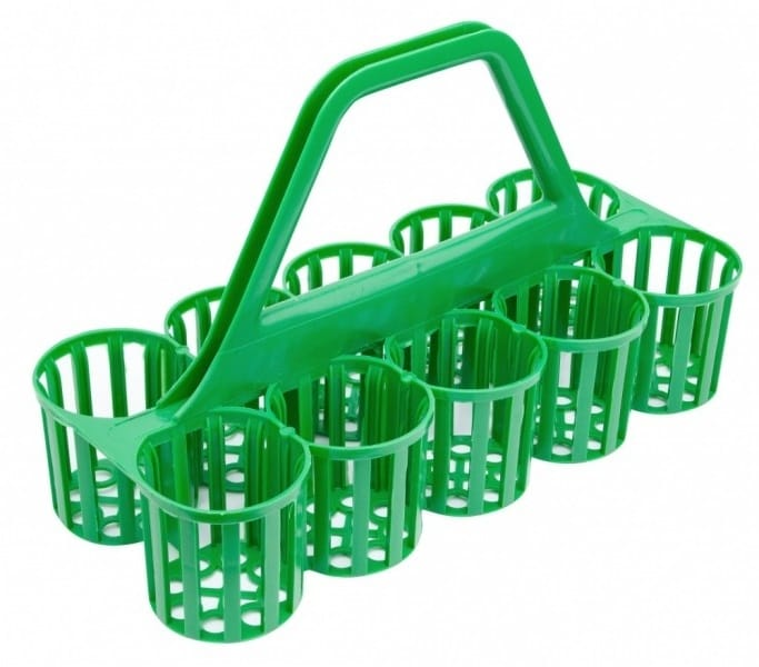 Glass Carrier - Green