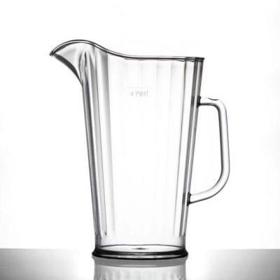 Reusable Plastic Large Jug   Glassjacks