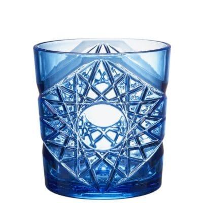 Blue Rocks Tumbler Plastic Glass