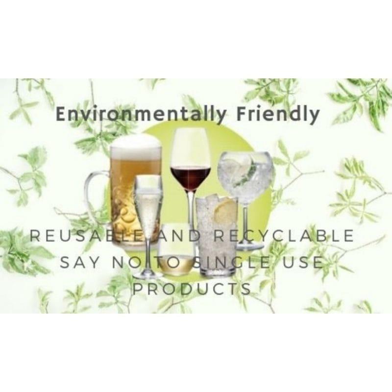 Enviromentally Friendly Plastic Glassware From Glassjacks