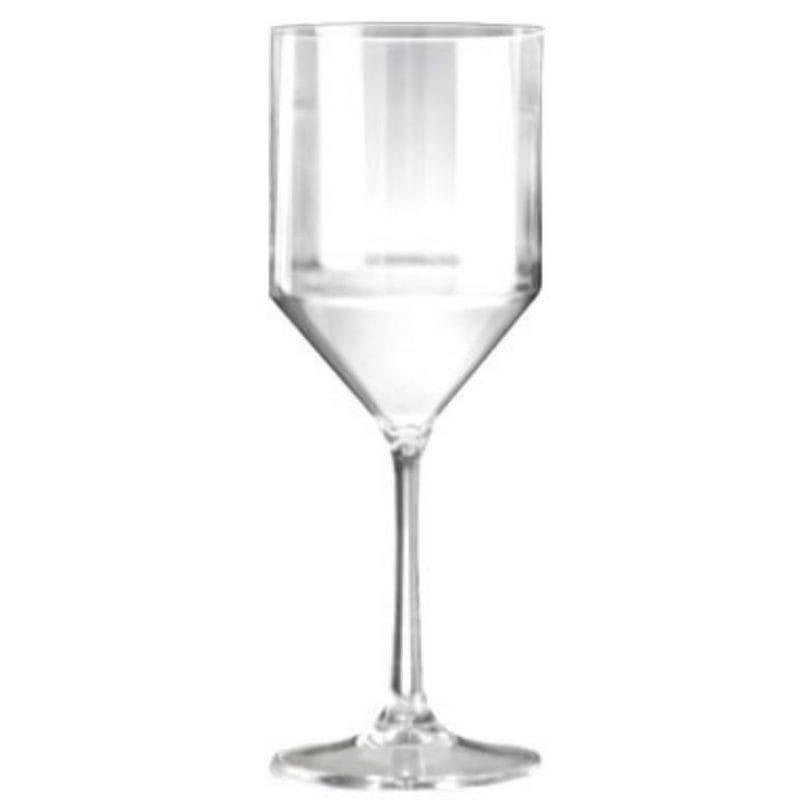 Large Modern Plastic Wine Glasses