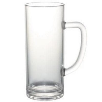 Plastic Beer Stien Pint Glasses Unbreakable
