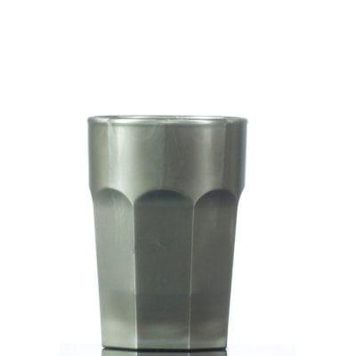 Silver Plastic Shot Glass