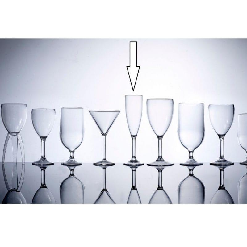 plastic unbreakable glassware