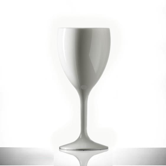 Elite Premium White Polycarbonate Wine Glasses 11oz