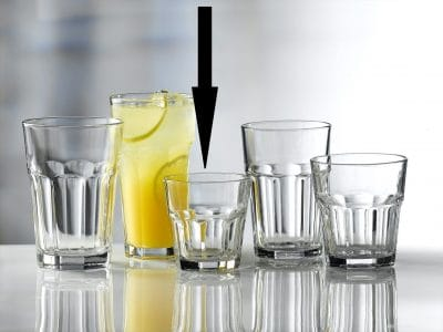 Aras Glass Rocks Tumblers 20cl / 7oz - 24 Pack, £0.74 each
