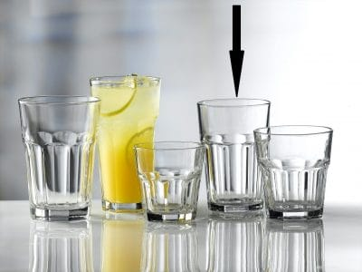 Aras Glass Tumbler 30cl / 10.5oz - 24 Pack, £0.94 each