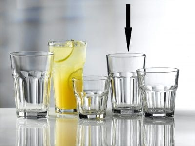 Aras Glass Tumblers 36cl / 12.5oz - 24 Pack, £1.08 each