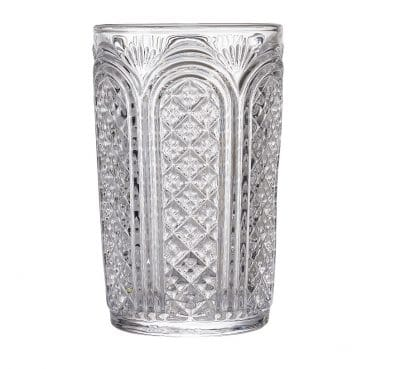 Astor Vintage Glass Tumbler, 38cl / 13.5oz, 4  Pack - £20.24