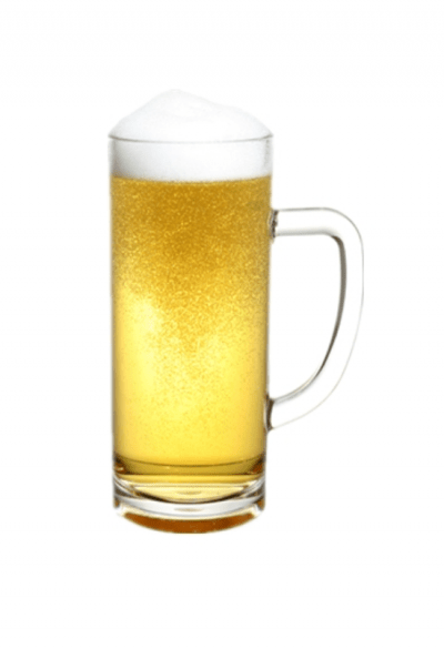 Reusable Plastic Beer 60cl - 4 Pack