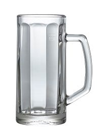 Berna Beer Glass Mug 13.75oz/ 39cl, Pack of 6